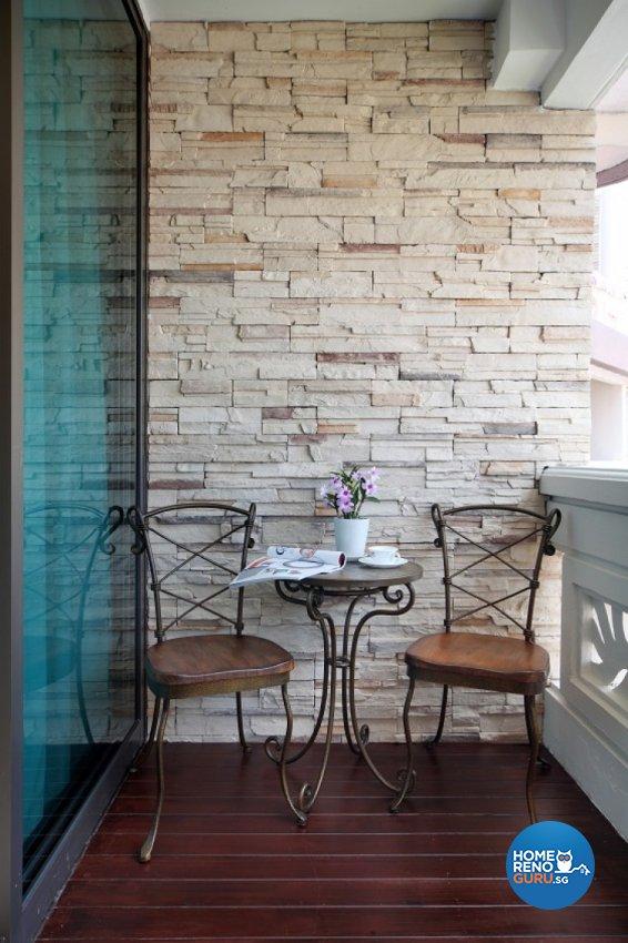 Classical, Resort Design - Balcony - Condominium - Design by Cre8 ID Pte Ltd