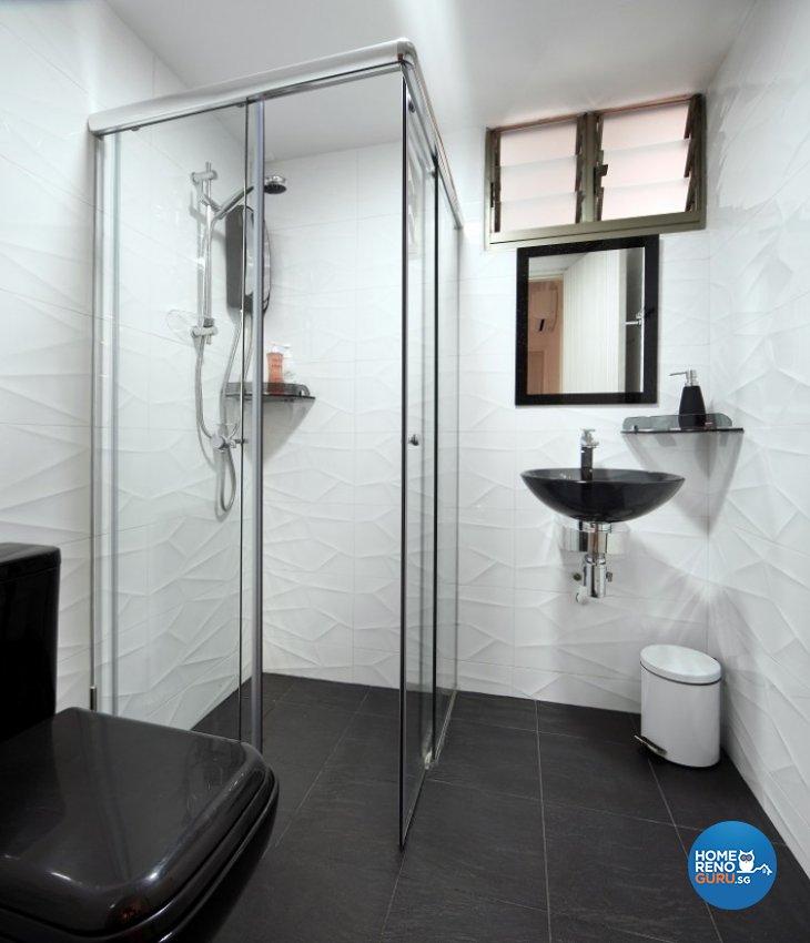 Classical, Resort Design - Bathroom - Condominium - Design by Cre8 ID Pte Ltd