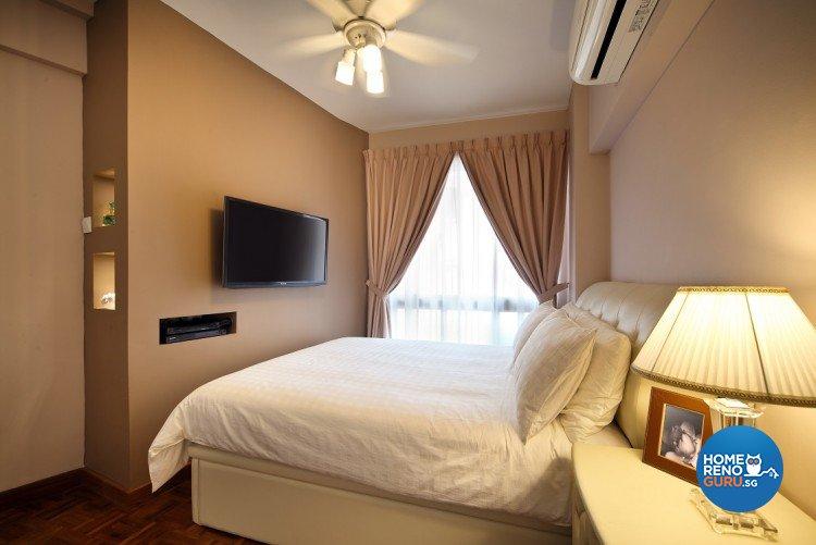 Classical, Resort Design - Bedroom - Condominium - Design by Cre8 ID Pte Ltd