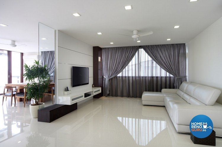 Contemporary, Modern Design - Living Room - Others - Design by Cre8 ID Pte Ltd