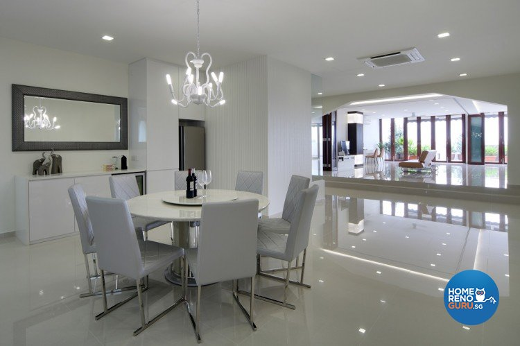 Contemporary, Modern Design - Dining Room - Others - Design by Cre8 ID Pte Ltd