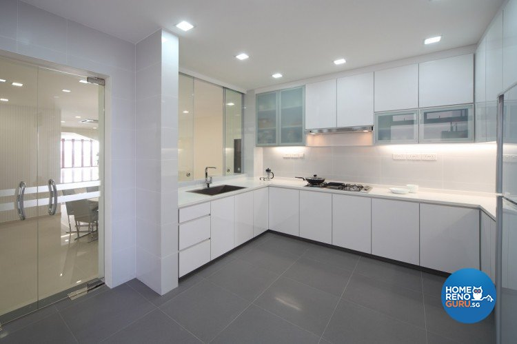Contemporary, Modern Design - Kitchen - Others - Design by Cre8 ID Pte Ltd