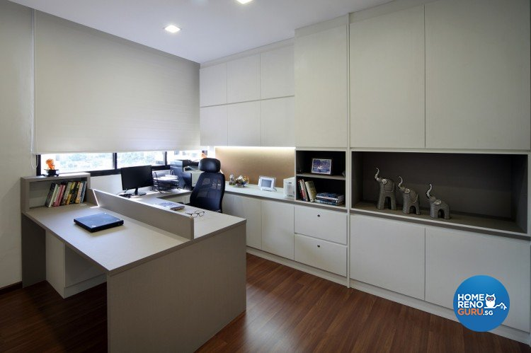 Contemporary, Modern Design - Study Room - Others - Design by Cre8 ID Pte Ltd