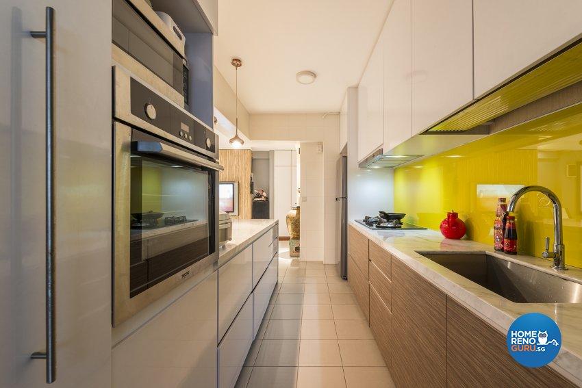 Modern Design - Kitchen - HDB 5 Room - Design by Create Pte Ltd
