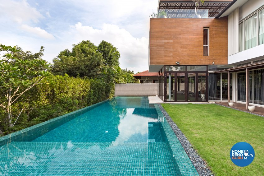 Modern Design - Garden - Landed House - Design by Create Pte Ltd