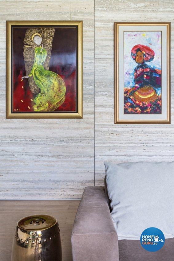 Modern Design - Living Room - Landed House - Design by Create Pte Ltd
