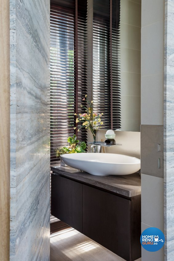 Modern Design - Bathroom - Landed House - Design by Create Pte Ltd