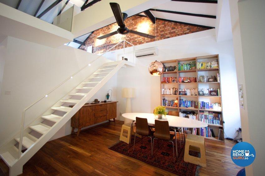 Contemporary Design - Dining Room - Condominium - Design by Create Pte Ltd