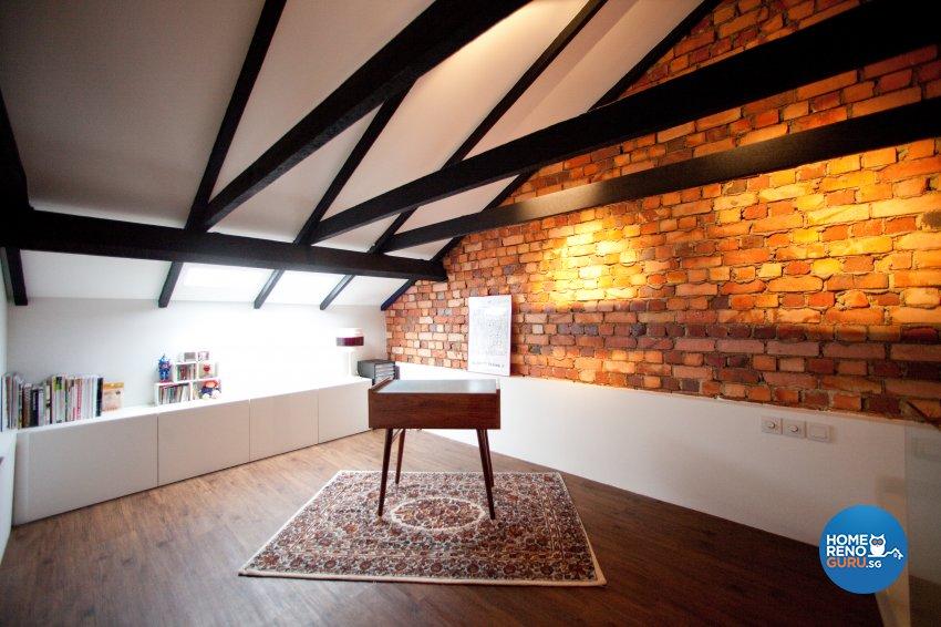 Contemporary Design - Entertainment Room - Condominium - Design by Create Pte Ltd