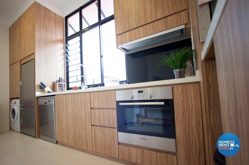 Contemporary Design - Kitchen - Condominium - Design by Create Pte Ltd