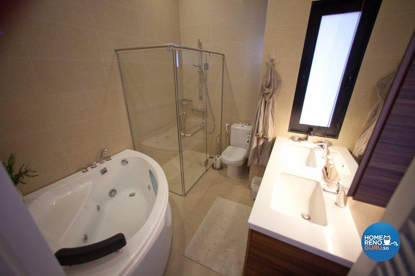 Contemporary Design - Bathroom - Condominium - Design by Create Pte Ltd