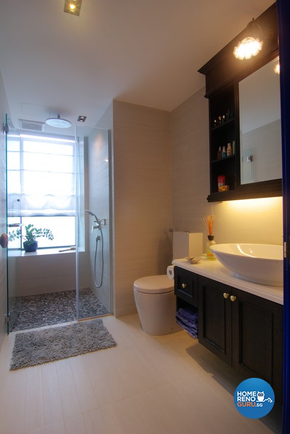 Modern Design - Bathroom - Condominium - Design by Create Pte Ltd