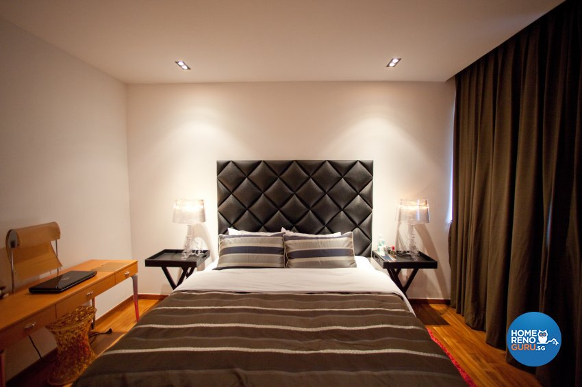 Contemporary Design - Bedroom - Landed House - Design by Create Pte Ltd