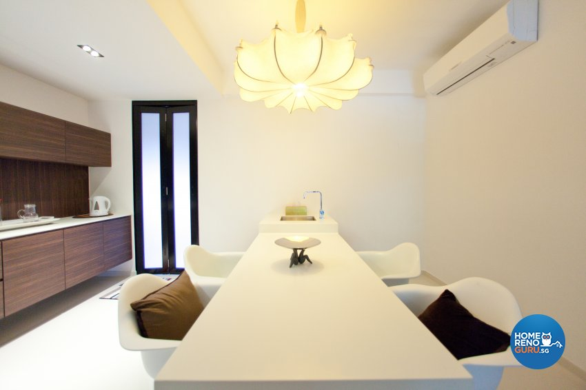Contemporary Design - Dining Room - Landed House - Design by Create Pte Ltd