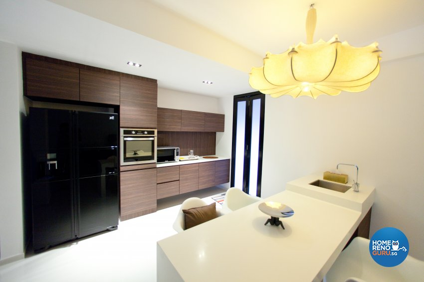 Contemporary Design - Kitchen - Landed House - Design by Create Pte Ltd