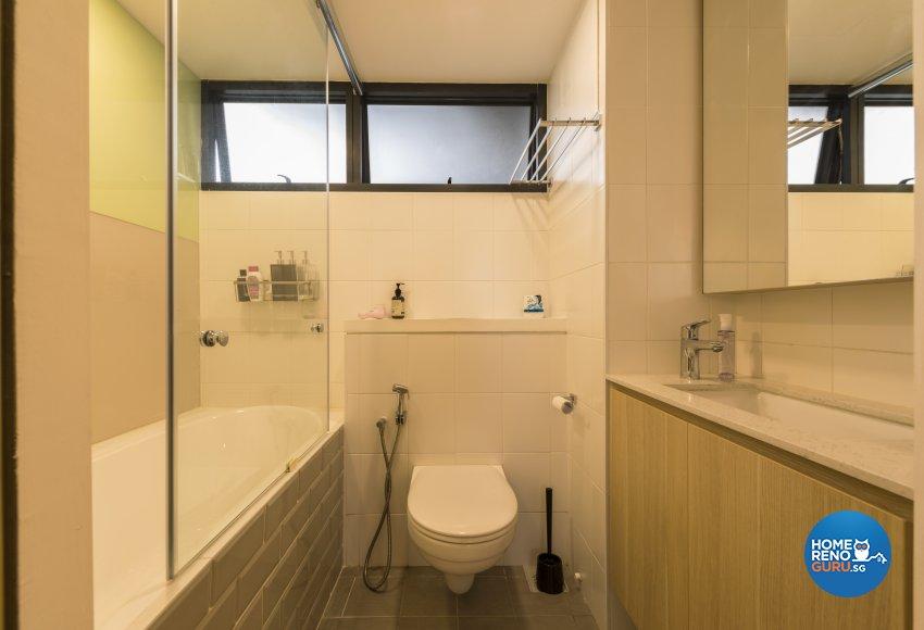 Minimalist Design - Bathroom - HDB 5 Room - Design by Create Pte Ltd