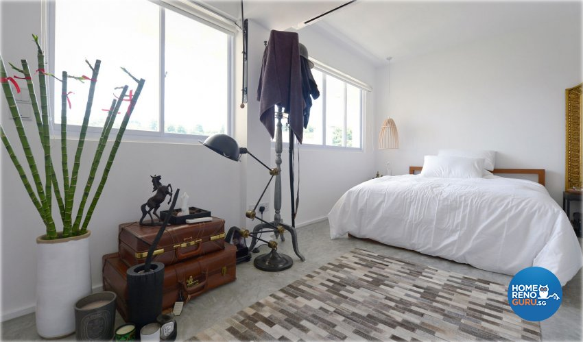 Vintage Design - Bedroom - HDB 5 Room - Design by Create Pte Ltd