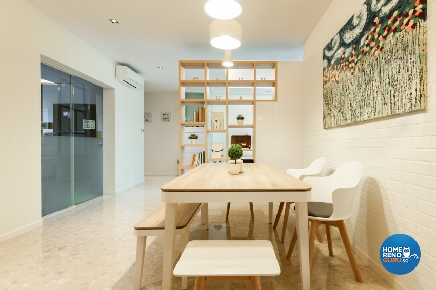 Contemporary, Scandinavian Design - Dining Room - Condominium - Design by Create Pte Ltd