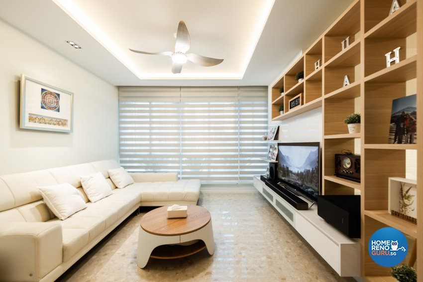 Contemporary, Scandinavian Design - Living Room - Condominium - Design by Create Pte Ltd