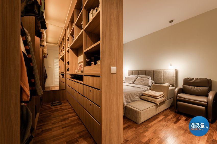 Contemporary, Scandinavian Design - Bedroom - Condominium - Design by Create Pte Ltd