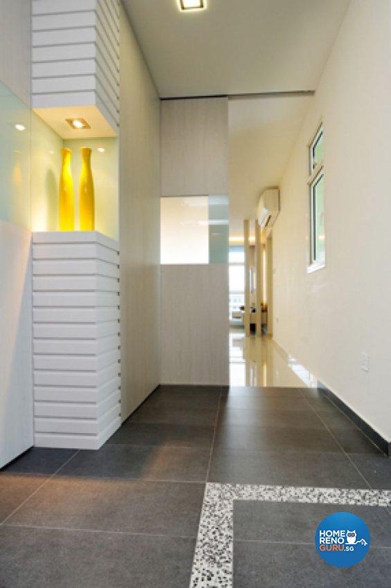 Contemporary, Minimalist, Modern Design - Balcony - HDB 5 Room - Design by Crescendo Interior & Lifestyle Pte Ltd
