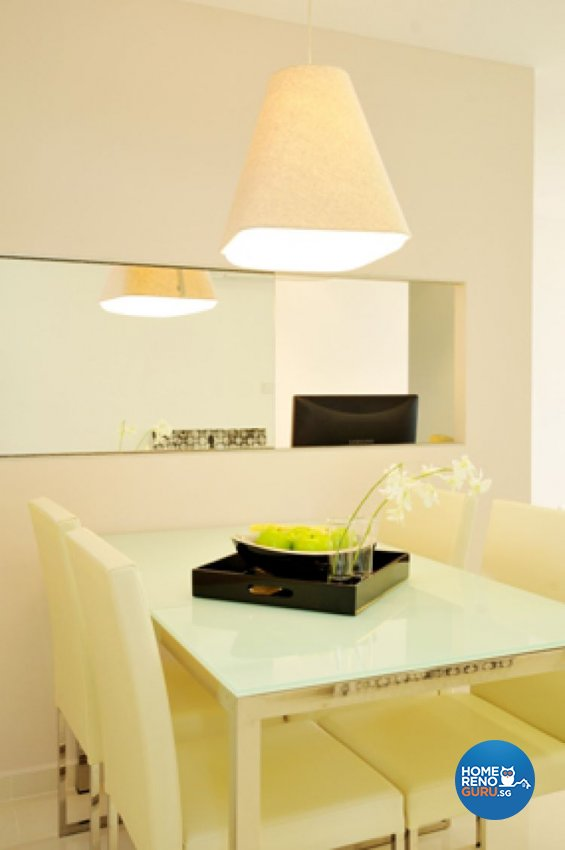 Contemporary, Minimalist, Modern Design - Dining Room - HDB 5 Room - Design by Crescendo Interior & Lifestyle Pte Ltd