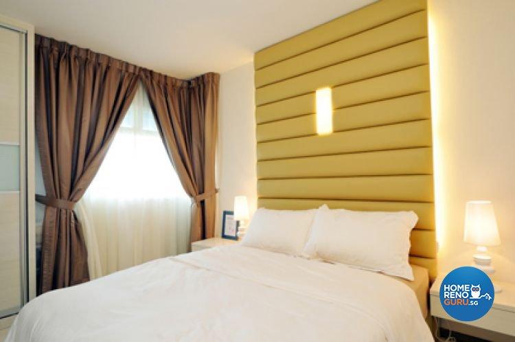 Contemporary, Minimalist, Modern Design - Bedroom - HDB 5 Room - Design by Crescendo Interior & Lifestyle Pte Ltd
