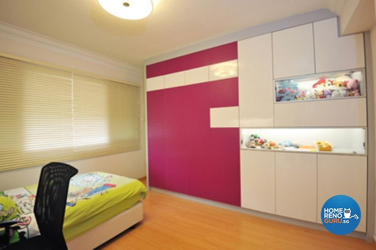 Contemporary, Modern Design - Bedroom - HDB Executive Apartment - Design by Crescendo Interior & Lifestyle Pte Ltd