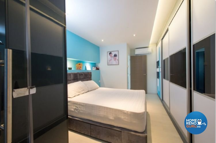Contemporary, Modern, Scandinavian Design - Bedroom - HDB 4 Room - Design by Crescendo Interior & Lifestyle Pte Ltd