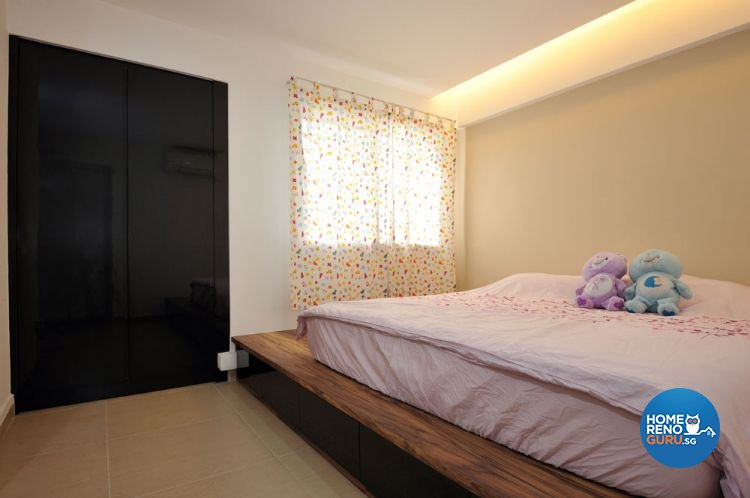 Contemporary, Minimalist Design - Bedroom - HDB 4 Room - Design by Crescendo Interior & Lifestyle Pte Ltd