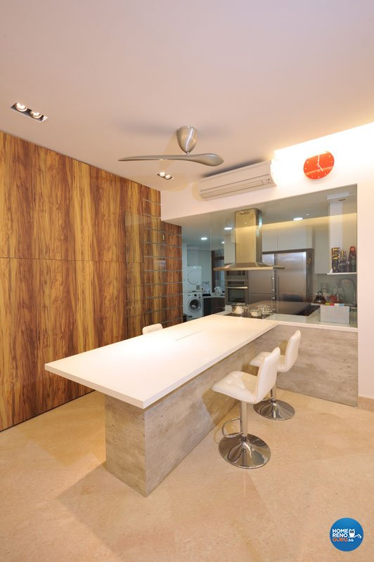 Contemporary, Modern Design - Dining Room - Condominium - Design by Crescendo Interior & Lifestyle Pte Ltd