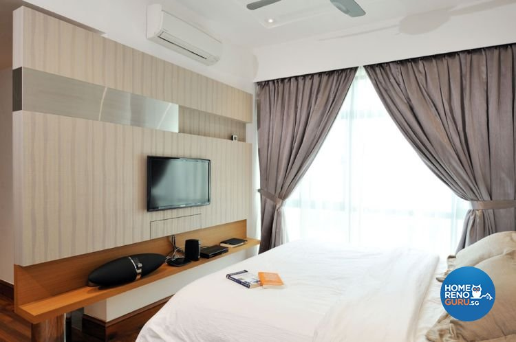 Contemporary, Modern Design - Bedroom - Condominium - Design by Crescendo Interior & Lifestyle Pte Ltd
