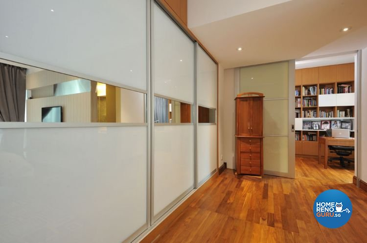 Contemporary, Modern Design - Study Room - Condominium - Design by Crescendo Interior & Lifestyle Pte Ltd