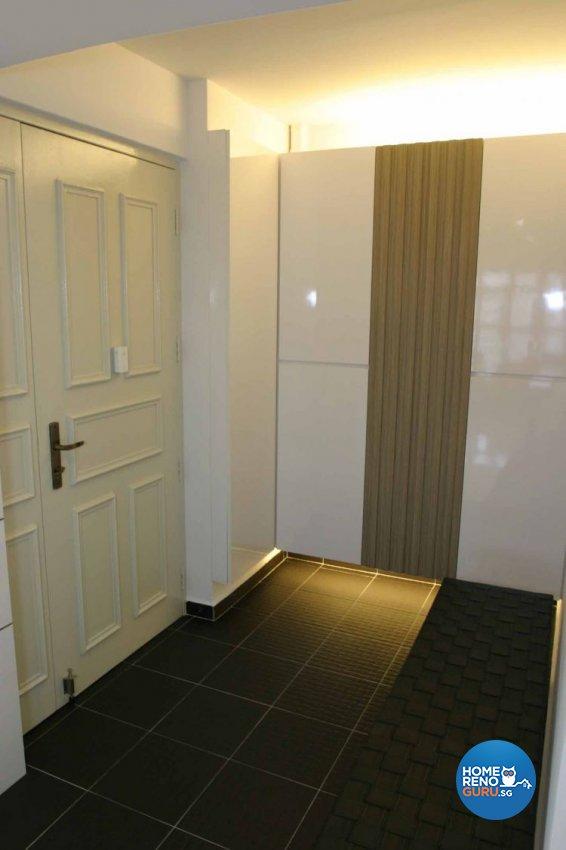 Contemporary, Modern Design - Balcony - HDB 5 Room - Design by Crescendo Interior & Lifestyle Pte Ltd