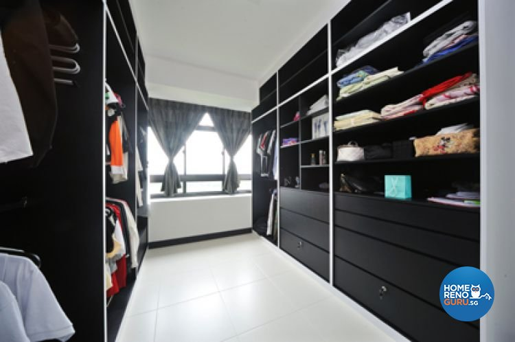 Contemporary, Minimalist, Modern Design - Bedroom - HDB 4 Room - Design by Crescendo Interior & Lifestyle Pte Ltd
