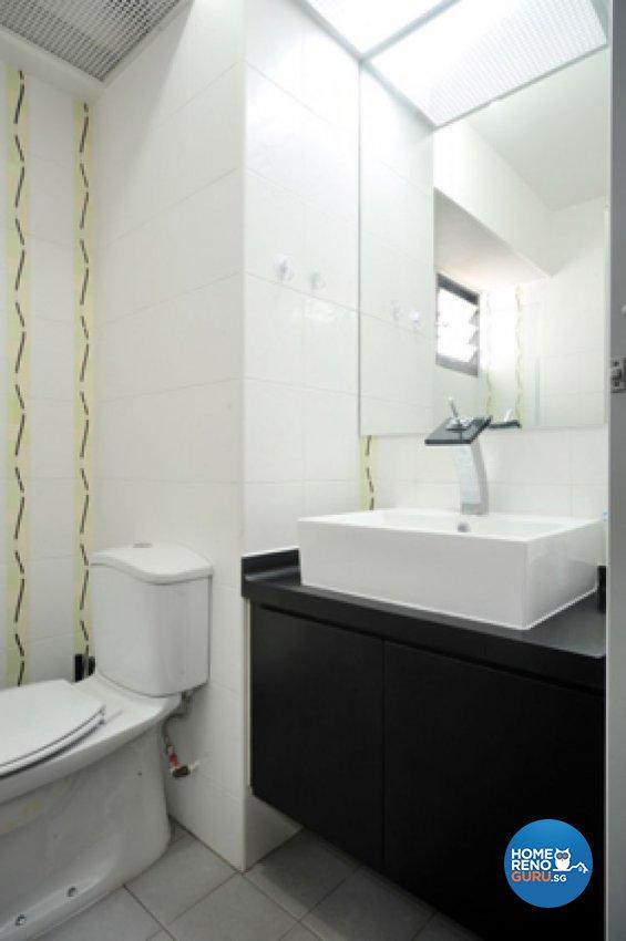 Contemporary, Minimalist, Modern Design - Bathroom - HDB 4 Room - Design by Crescendo Interior & Lifestyle Pte Ltd