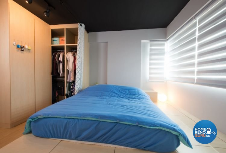 Contemporary, Modern Design - Bedroom - HDB 4 Room - Design by Crescendo Interior & Lifestyle Pte Ltd