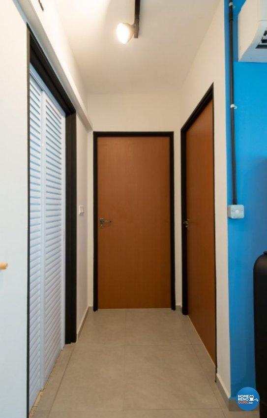 Contemporary, Modern Design - Study Room - HDB 4 Room - Design by Crescendo Interior & Lifestyle Pte Ltd