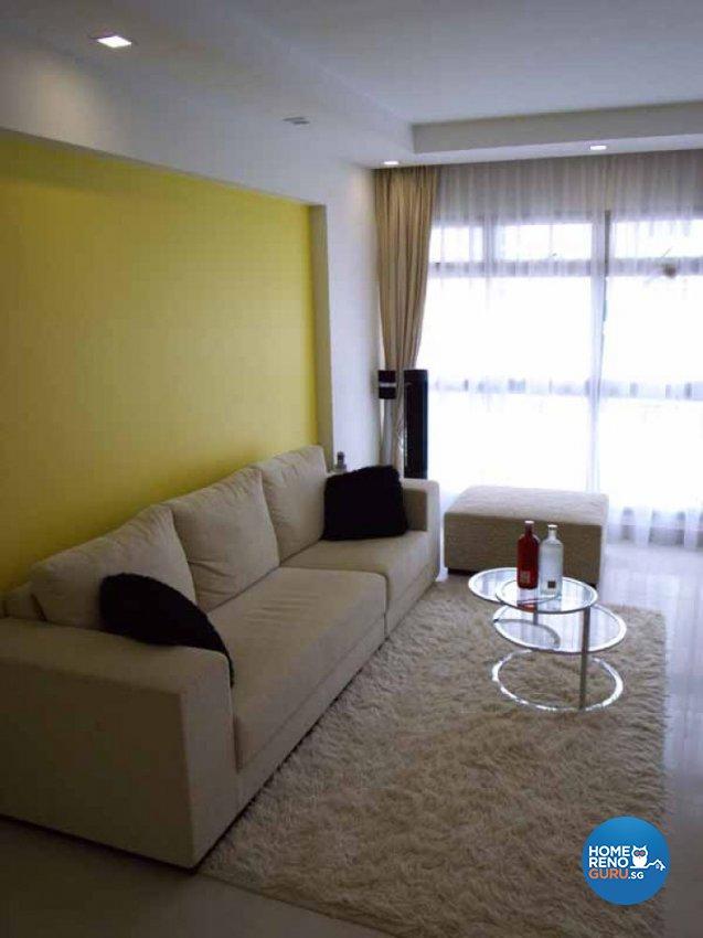 Contemporary, Modern, Retro Design - Living Room - HDB 4 Room - Design by Crescendo Interior & Lifestyle Pte Ltd