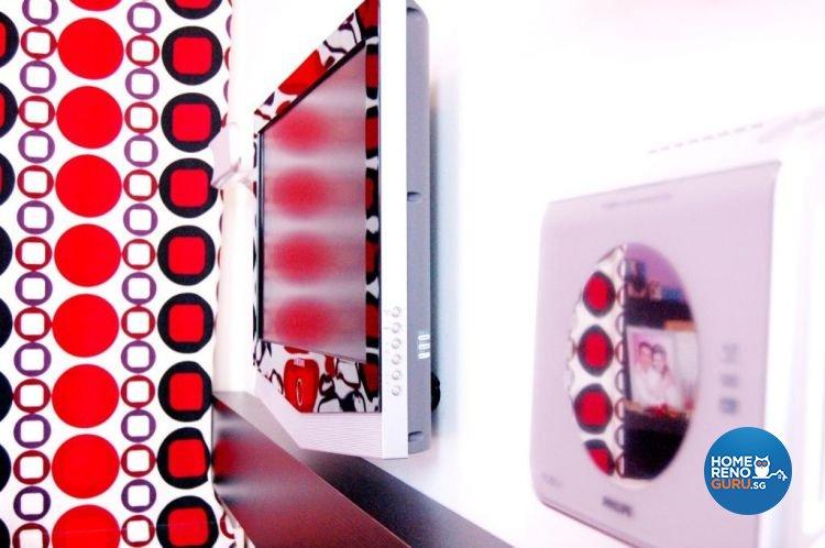 Contemporary, Modern, Retro Design - Bedroom - HDB 4 Room - Design by Crescendo Interior & Lifestyle Pte Ltd
