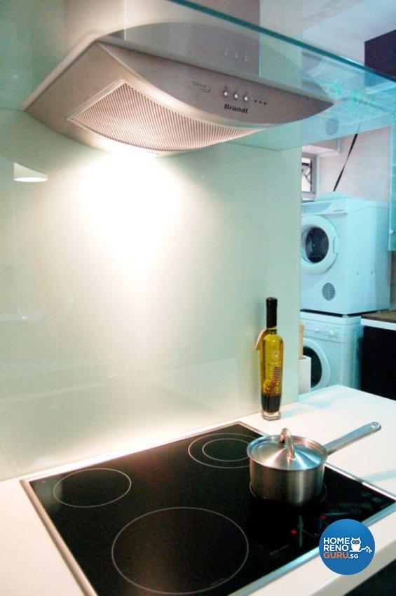Contemporary, Modern, Retro Design - Kitchen - HDB 4 Room - Design by Crescendo Interior & Lifestyle Pte Ltd