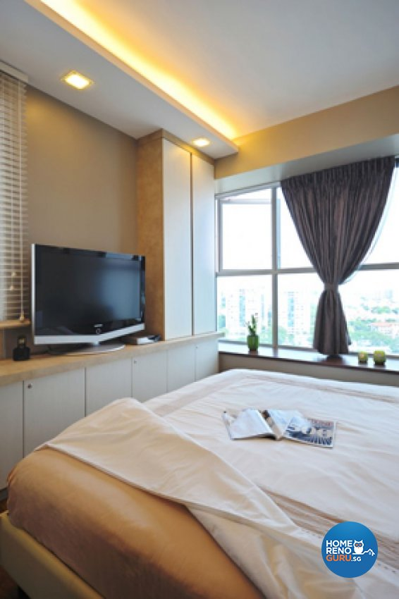 Contemporary, Minimalist, Modern Design - Bedroom - Condominium - Design by Crescendo Interior & Lifestyle Pte Ltd