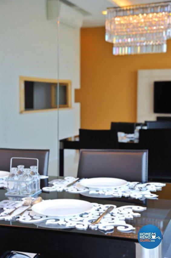 Contemporary, Minimalist, Modern Design - Dining Room - Condominium - Design by Crescendo Interior & Lifestyle Pte Ltd