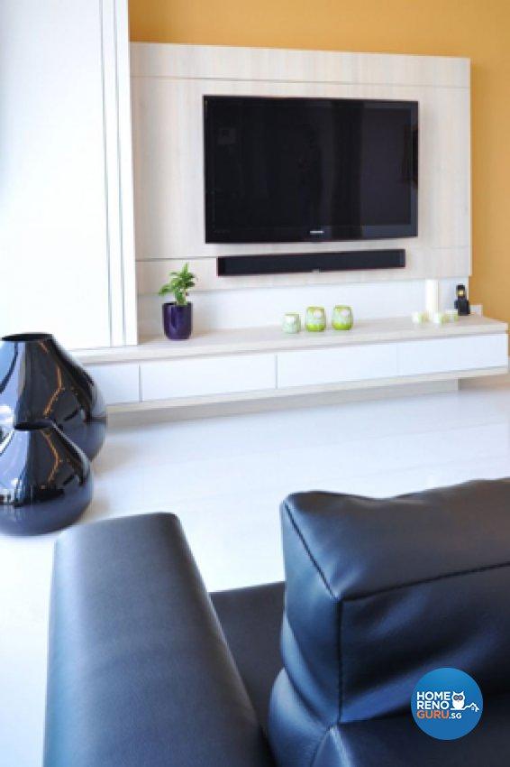 Contemporary, Minimalist, Modern Design - Living Room - Condominium - Design by Crescendo Interior & Lifestyle Pte Ltd