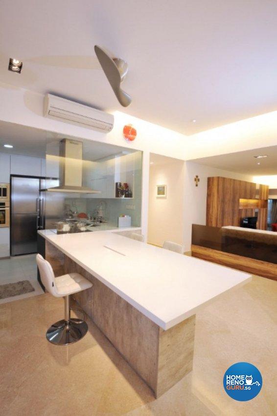 Contemporary, Modern, Tropical Design - Dining Room - Condominium - Design by Crescendo Interior & Lifestyle Pte Ltd