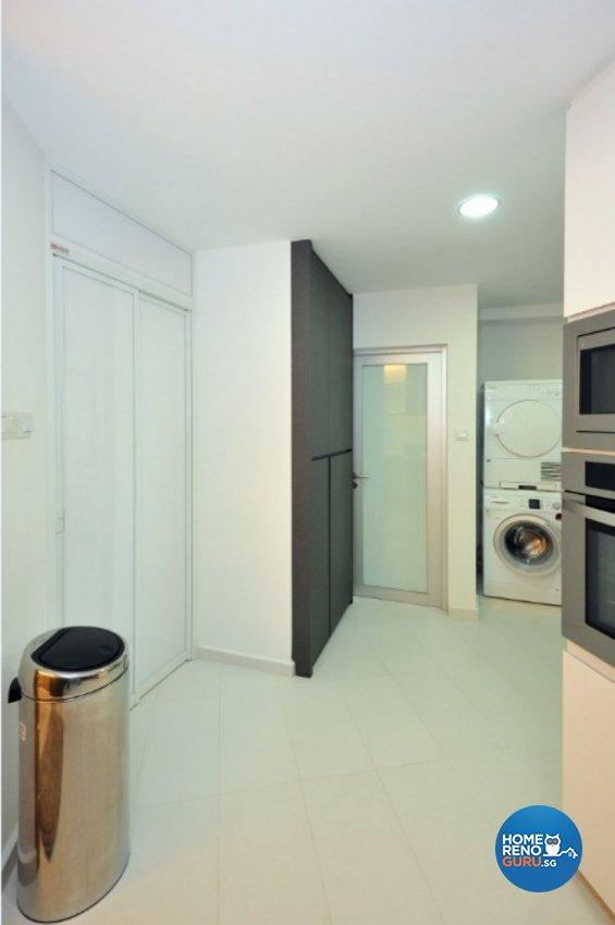 Contemporary, Modern, Tropical Design - Kitchen - Condominium - Design by Crescendo Interior & Lifestyle Pte Ltd
