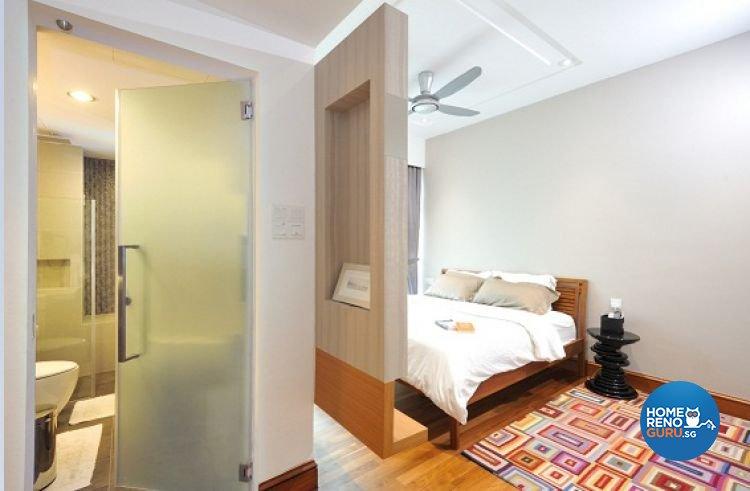 Contemporary, Modern, Tropical Design - Bedroom - Condominium - Design by Crescendo Interior & Lifestyle Pte Ltd