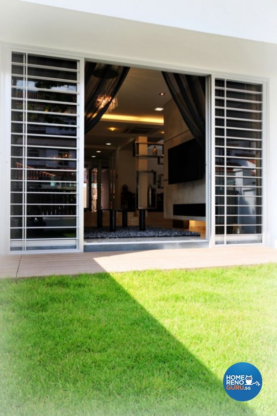 Contemporary, Modern Design - Garden - Landed House - Design by Crescendo Interior & Lifestyle Pte Ltd