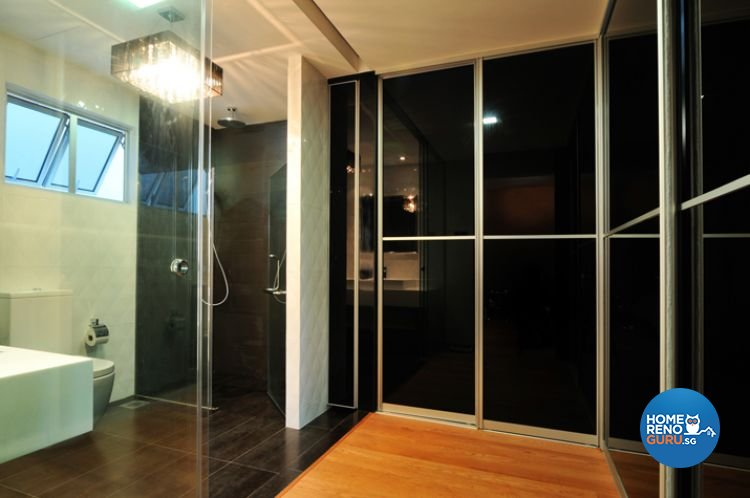Contemporary, Modern Design - Bathroom - Landed House - Design by Crescendo Interior & Lifestyle Pte Ltd