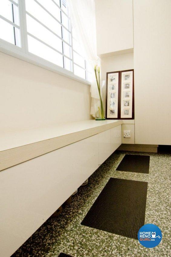 Contemporary, Modern Design - Balcony - HDB 4 Room - Design by Crescendo Interior & Lifestyle Pte Ltd